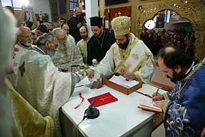 Heiliger-Georgios-Wiesbaden / Seine Exzellenz Vikarbischof Bartholomaios von Arianz