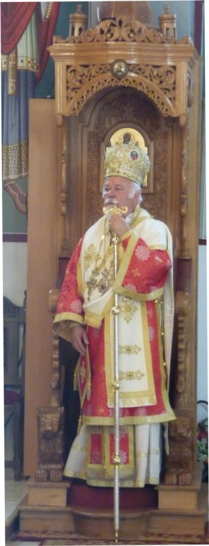 Heiliger-Georgios-Wiesbaden / Besuch Seiner Eminenz Metropolit Augoustinos von Deutschland und Exarch von Zentraleuropa / Alljährliches Gemeindefest zu Ehren des Heiligen Georgios des Trophäenträgers